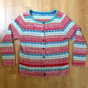 Sparrow Marna Fairisle Knit Button Up Sweater